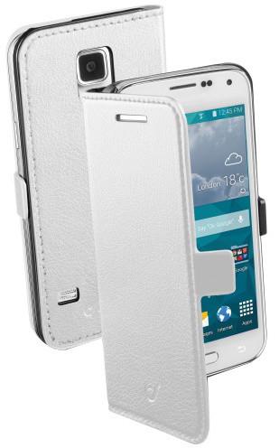 CellularLine Book Essential pro Galaxy S5 Mini, bílá