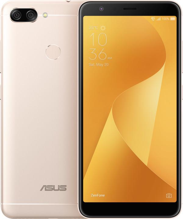 ASUS ZenFone Max Plus (M1) ZB570TL, zlatá