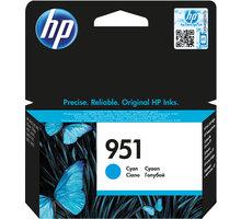 HP CN050AE, cyan, č. 951