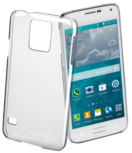 CellularLine Invisible pro Samsung Galaxy S5 Mini, průhledná