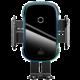 Baseus Light Electric držák s bezdrátovým nabíjením do automobilu (15W), černá