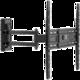 Meliconi 580417 CME Double Rotation EDR 400 nástěnný náklonný držák na TV, černá  + Voucher až na 3 měsíce HBO GO jako dárek (max 1 ks na objednávku)