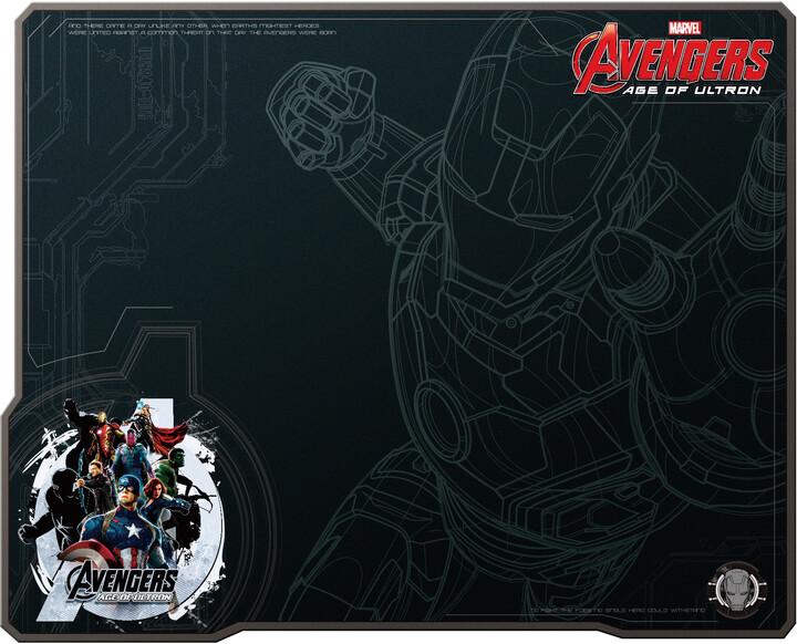 E-Blue Avengers EMP007BK, látková