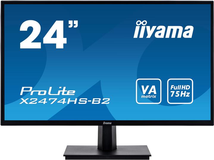 "iiyama ProLite X2474HS-B2 - LED monitor 24"""