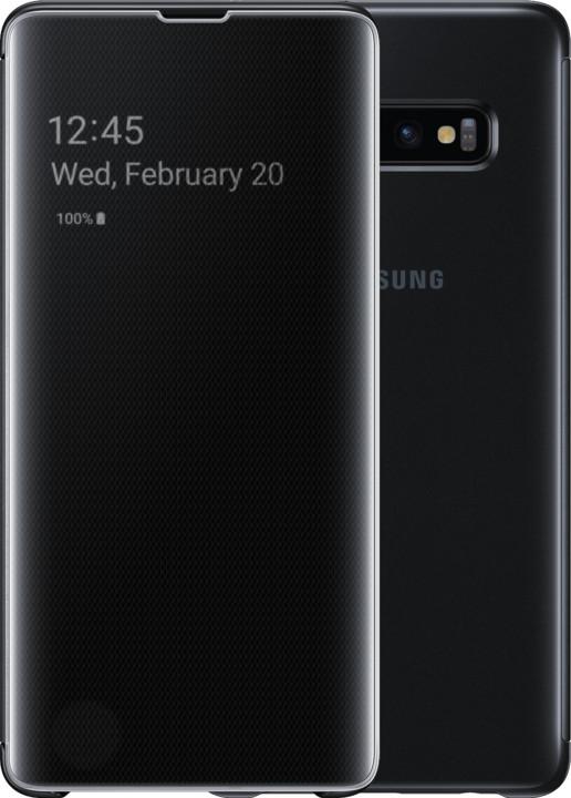 Samsung Clear View flipové pouzdro pro Samsung G975 Galaxy S10+, černá