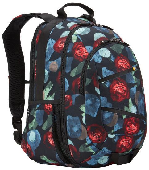 """CaseLogic Berkeley II batoh na 15.6"""" notebook - vzor růže"""