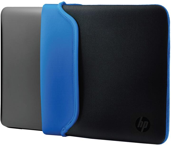 "HP 15,6"" Pouzdro Neoprene Sleeve černá / modrá"