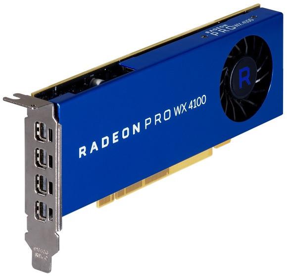 HP Radeon Pro WX4100 4GB