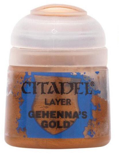 Krycí barva Citadel Layer Paint, Gehennas Gold
