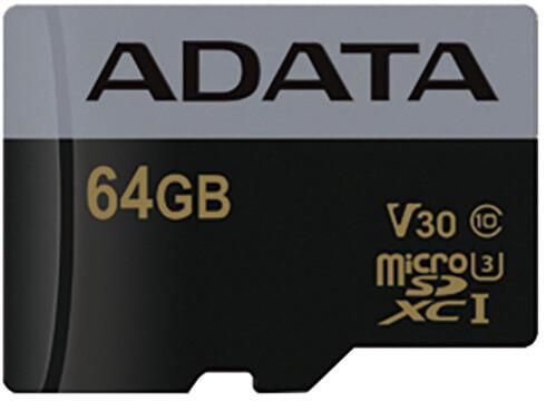ADATA Micro SDXC Premier Pro 64GB 95MB/s UHS-I U3