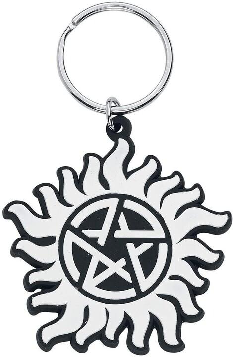 Klíčenka Supernatural - Anti Possesion Symbol