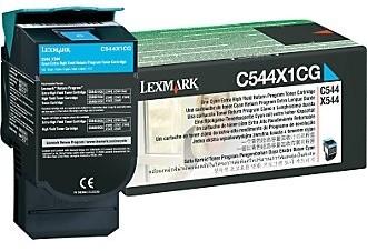 Lexmark C544X1CG - cyan