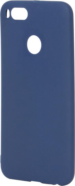 EPICO pružný plastový kryt pro Xiaomi Mi A1 SILK MATT - tmavě modrý