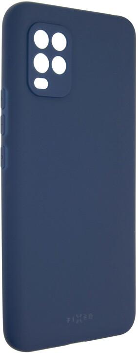FIXED pogumovaný kryt Story pro Xiaomi Mi10 Lite, modrá
