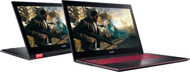 Acer Nitro 5 Spin (NP515-51-84FZ), černá