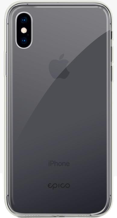 EPICO hero case pro iPhone X/iPhone XS, transparentní