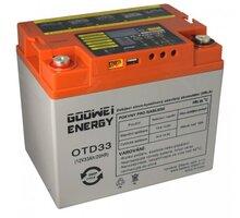 GOOWEI ENERGY OTD33 - VRLA GEL, 12V, 33Ah