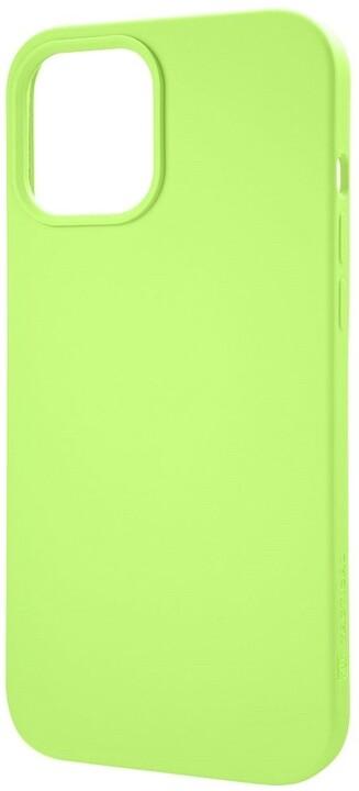 """Tactical silikonový kryt Velvet Smoothie pro iPhone 12 Pro Max (6.7""""), svítivě modrá"""