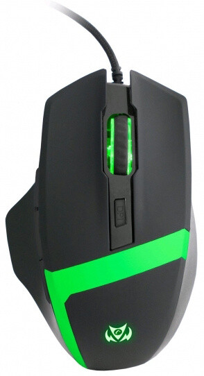 C-TECH Kyllaros, černá/zelená