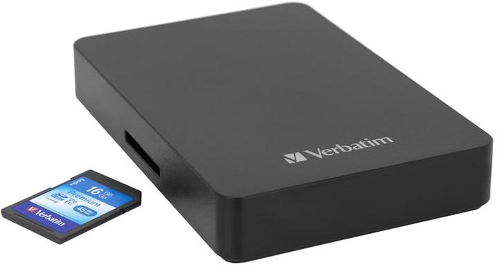 Verbatim Store 'n' Go - 1TB + 16GB SDHC karta
