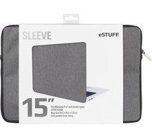 eSTUFF A1707, A1398 15'' Sleeve - Fits Macbook Pro, twill - ES82251-TWILL