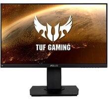 """ASUS Gaming VG249Q - LED monitor 24"""" Myš C-TECH Kyllaros, herní, laserová, černá/červená v hodnotě 100 Kč + Podložka ASUS ROG STRIX EDGE v hodnotě 499 Kč + O2 TV Sport Pack na 3 měsíce (max. 1x na objednávku)"""