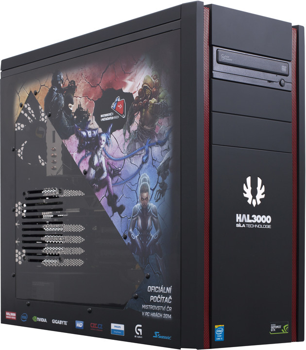 HAL3000 herní sestava MČR Pro