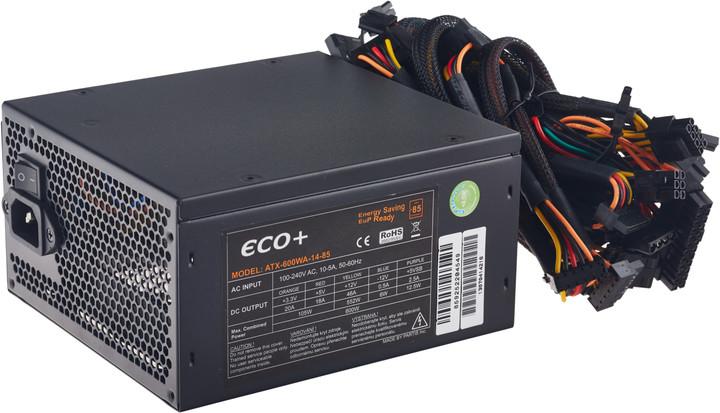 Eurocase ECO+85 - 600W