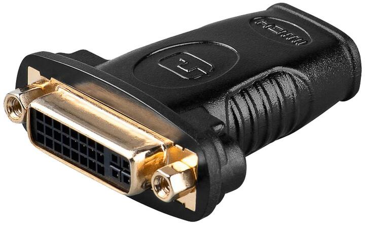 PremiumCord adaptér HDMI A - DVI-D, Female/Female
