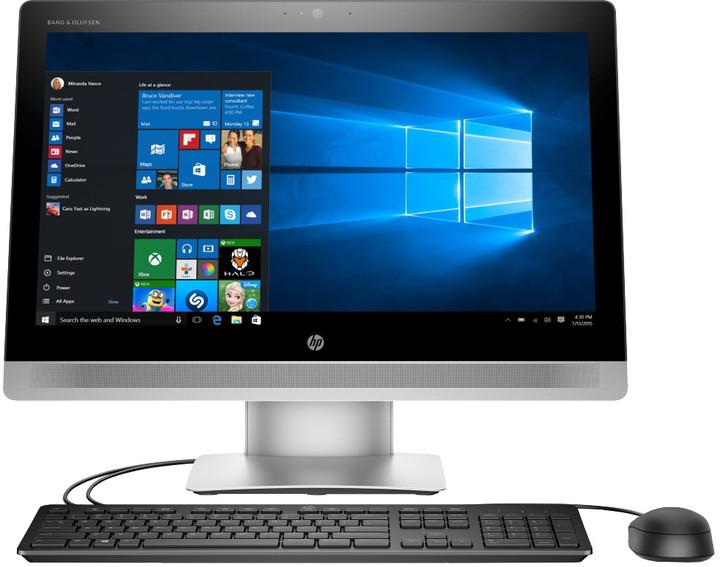 HP EliteOne 800 G2, stříbrná