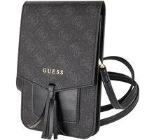 GUESS pouzdro 4G Wallet Universal, černá - 2444399