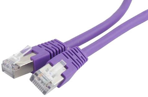 Gembird Cablexpert Patch kabel FTP CAT6, stíněný - 2m - fialová