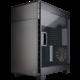 Corsair Carbide Clear 600C Interses, okno, černá