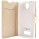 FIXED flipové pouzdro pro Lenovo A2010, bílá