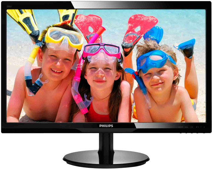 Philips 246V5LHAB - LED monitor 24""