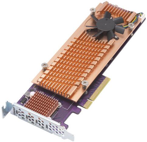 QNAP QM2-4P-284 - Quad rozšiřující karta pro disky SSD M.2 2280 PCIe