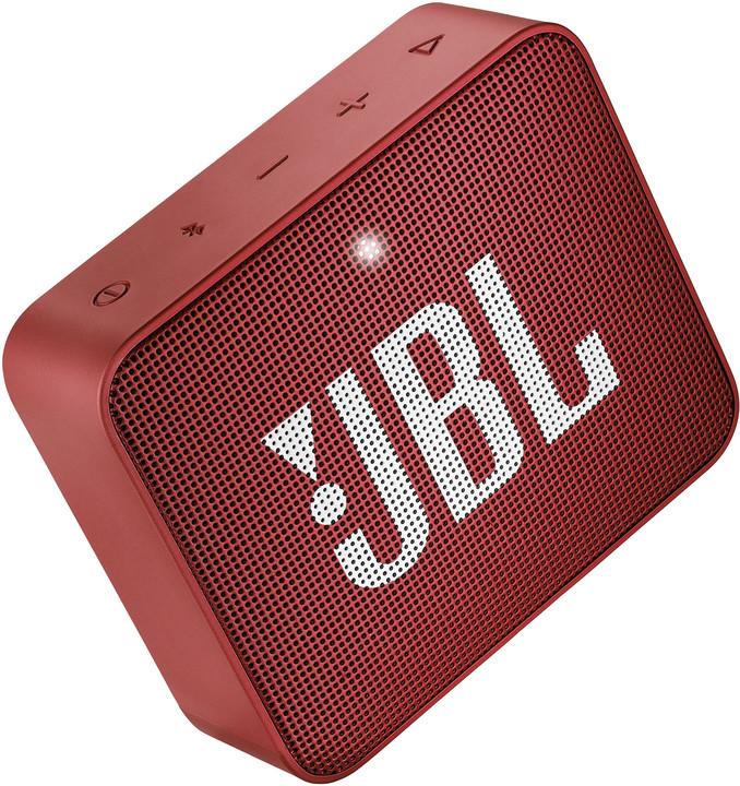 JBL GO2, červená