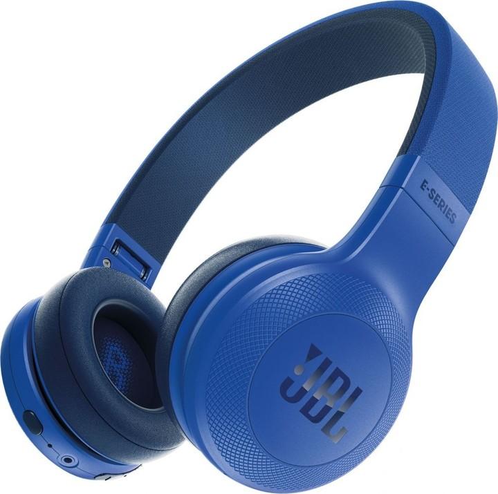 JBL E45BT, modrá