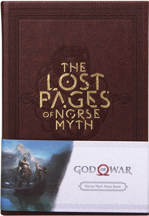 Zápisník God of War - The Lost Pages of Norse Myth