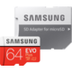Samsung EVO Plus Micro SDXC 64 GB UHS-I U1 + adaptér