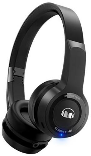 Monster Clarity HD Wireless On Ear, černá