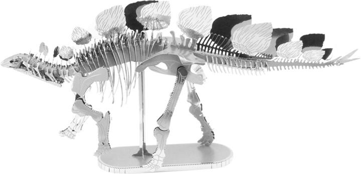 Metal Earth - Stegosaurus kostra