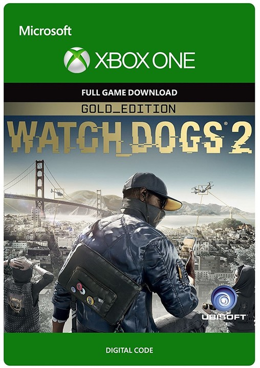 Watch Dogs 2: Gold Edition (Xbox ONE) - elektronicky