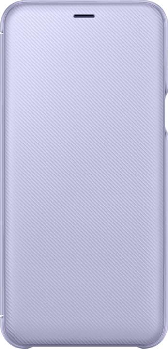 Samsung A6+ flipové pouzdro, lavender