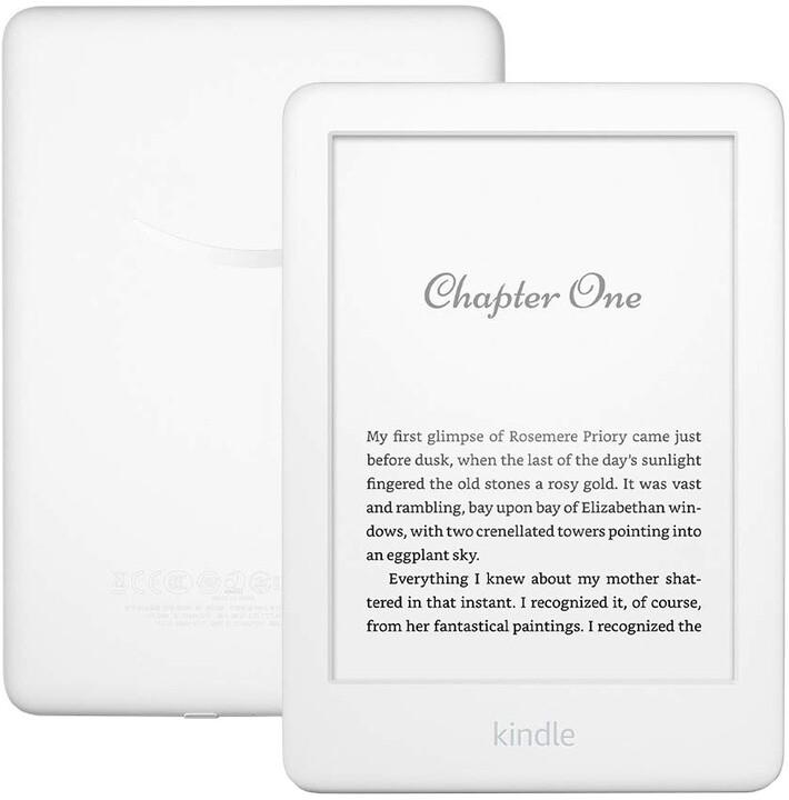 Amazon New Kindle 2019, bílá - sponzorovaná verze