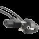 Gembird CABLEXPERT kabel napájecí, pravoúhlý konektor, 1,8m