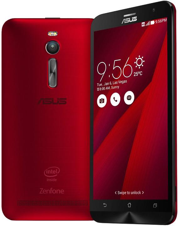ASUS ZenFone 2 ZE551ML - 64GB, červená