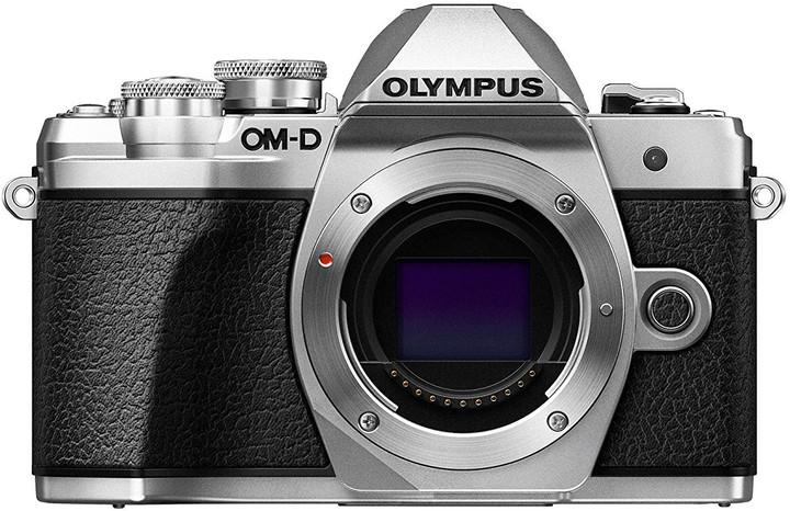 Olympus E-M10 Mark III tělo, stříbrná