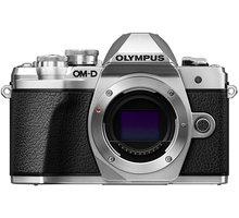 Olympus E-M10 Mark III tělo, stříbrná - V207070SE000