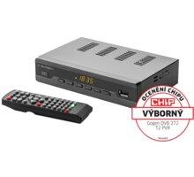 GoGEN DVB 272 T2 PVR , DVB-T2, černá - GOGDVB272T2PVR
